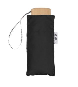 Mini parapluie noir – micro & solide – jane