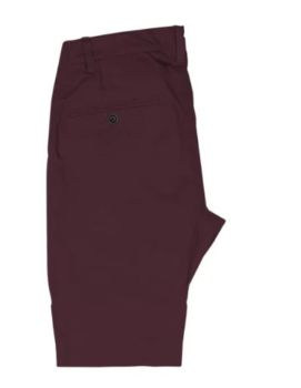 Shorts chino nacka bordeaux