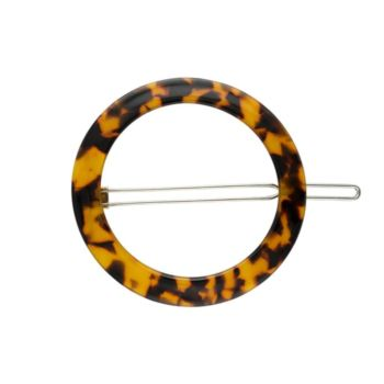 Clip a cheveux machete tortoise orange