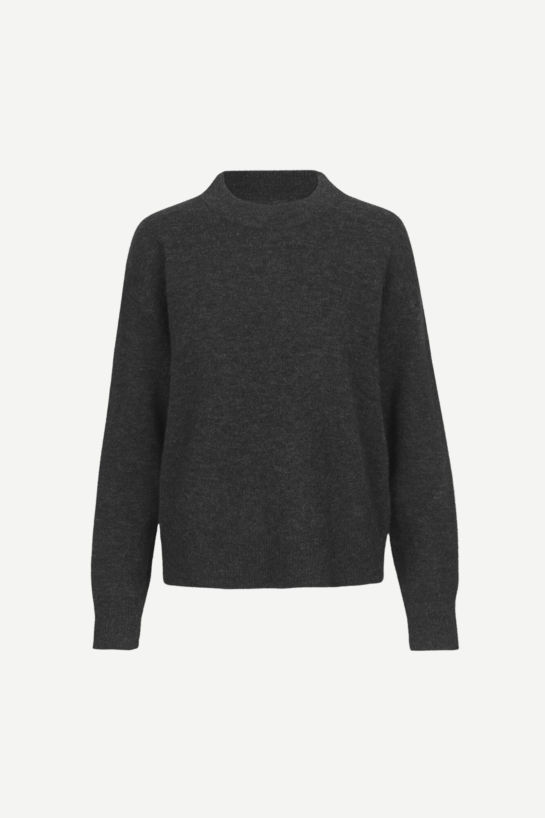 Pull Col Rond Anour Noir