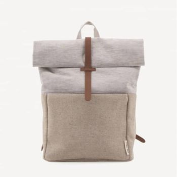 Herb backpack jute & linen