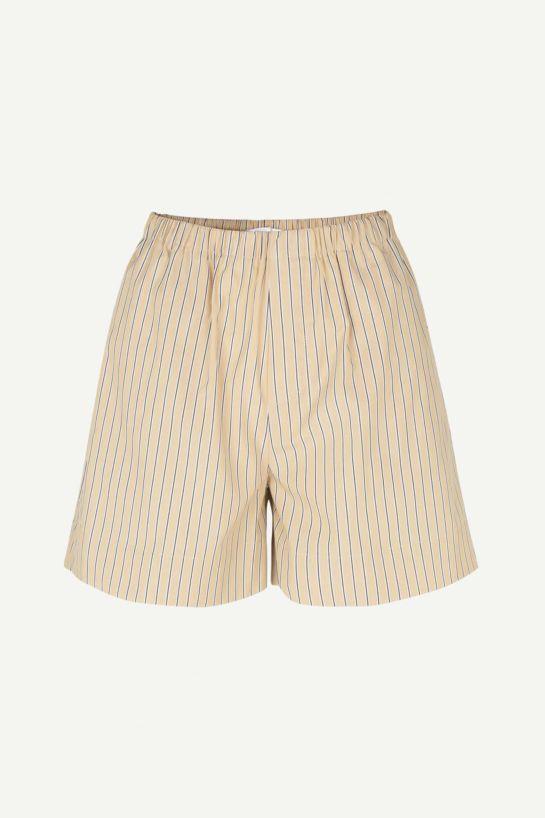 Shorts Laury Crème Rayés
