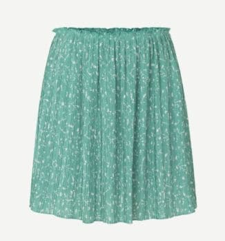 Jupe courte lia vert menthe