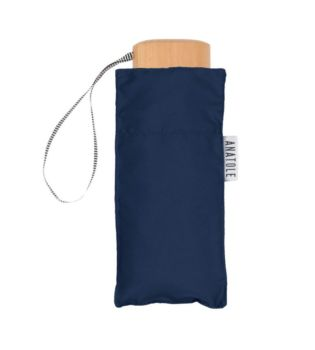 Mini parapluie bleu marine – micro & solide – colette