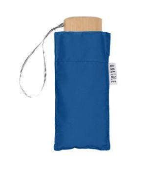 Mini parapluie bleu roi – micro & solide – marguerite