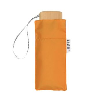 Mini parapluie orange – micro & solide – auguste