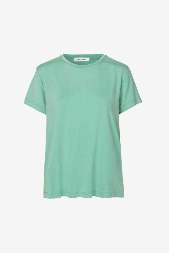 Tee-Shirt Siff En Cupro Vert Menthe
