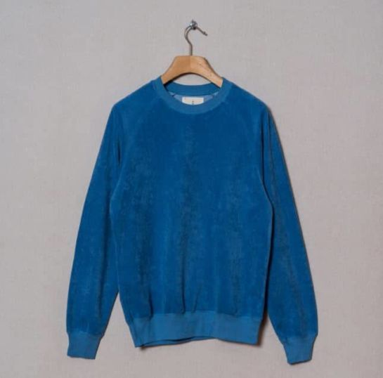 Sweat-Shirt Cunha Towel Blue