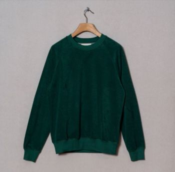 Sweat-shirt cunha towel green