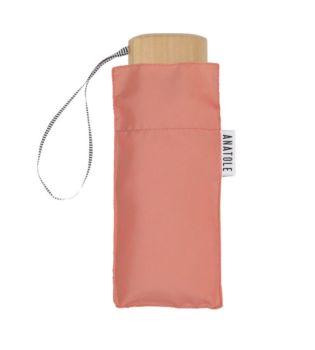 Mini parapluie rose – micro & solide – madeleine