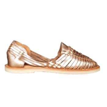 Sandales alegre rose gold