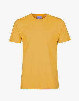 Teeshirt burned yellow