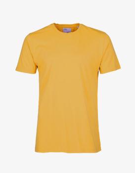 Teeshirt burned yellow