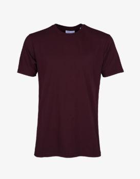 Tee shirt oxblood red