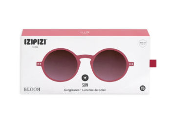 Lunettes forme g pink bloom edition