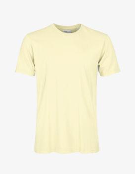 Tee shirt soft yellow