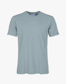 Tee shirt steel blue