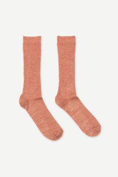 Chaussettes fluo pink mel 12881