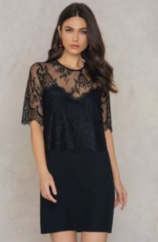 Robe daphne black 8330 taille m