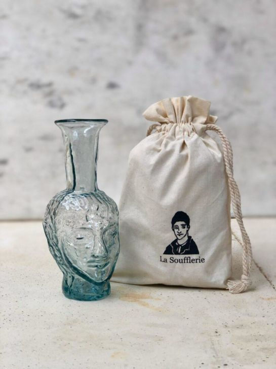 VASE TETE – TRANSPARENT