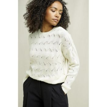 Pull clyde - creme taille m