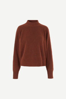 Pull col montant frances - cinnamon