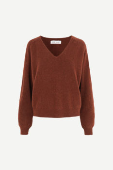 Pull col v frances - cinnamon taille m