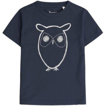 Tee-shirt hibou - bleu marine