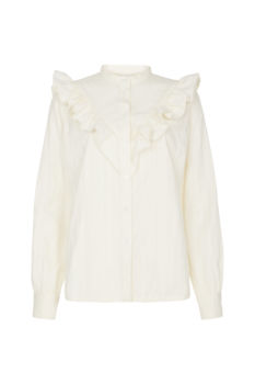 Blouse alma eco white