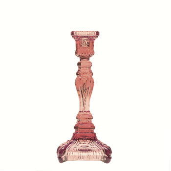 Chandelier fin de siecle - rose