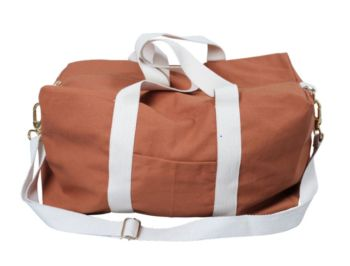 Gym bag cannelle