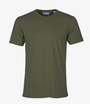 Tee shirt seaweed green