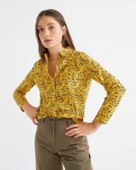 Blouse chamomille multiflowers