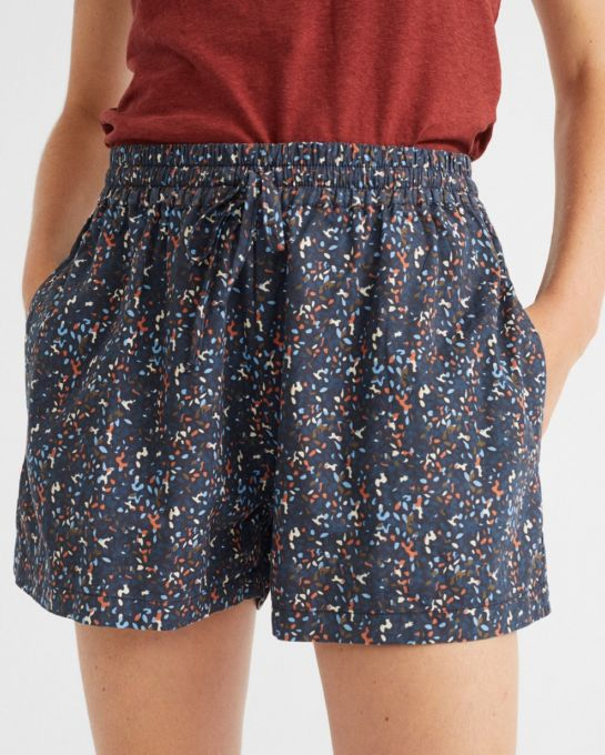 short multiflowers bleu « Geranio »
