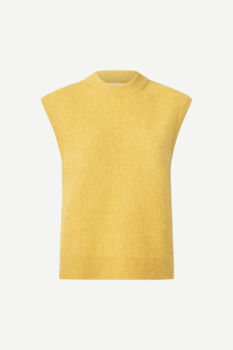 Pull nor sans manches - ocre