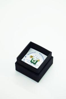 Médaille miraculeuse cœur vert