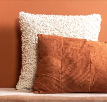 Coussin purity square blanc